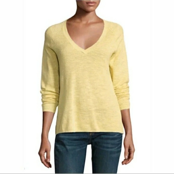 8b1359f59b8 New Eileen Fisher v-neck sweater top